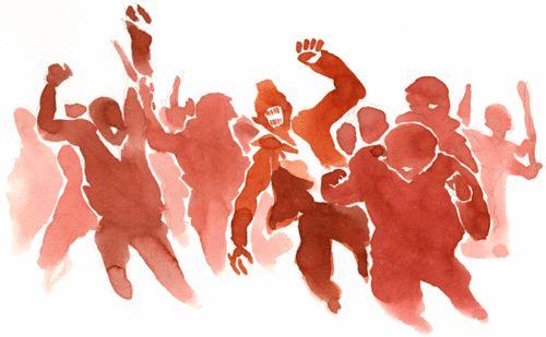 صورة التحول الديمقراطي ومفاهيم الثورة والتغيير والإصلاح